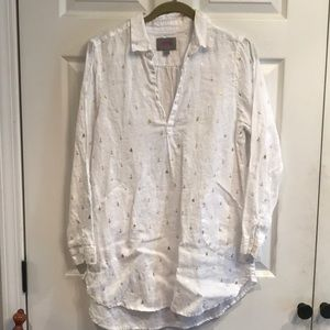 Forcynthia size L printed pullover beach wear